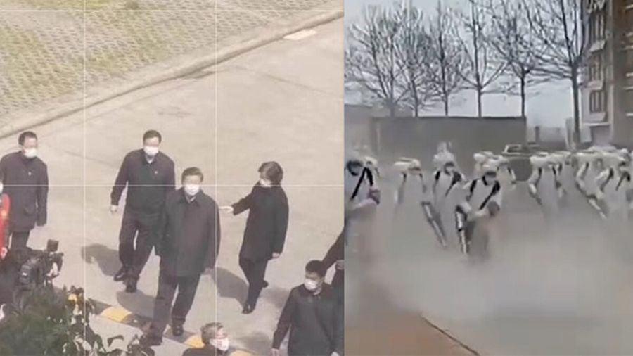 習赴武漢遭諷「摘桃子」 公安入戶狙擊手列陣