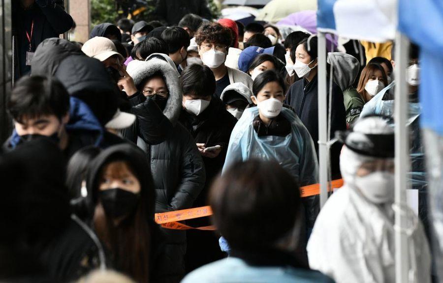 中共肺炎 首爾增至193例 電視台員工確診恐波及明星