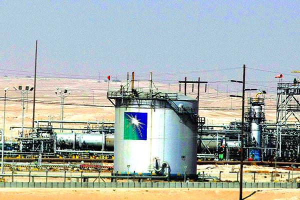 沙特阿美石油公司的一處石油生產設施。(Getty Images)