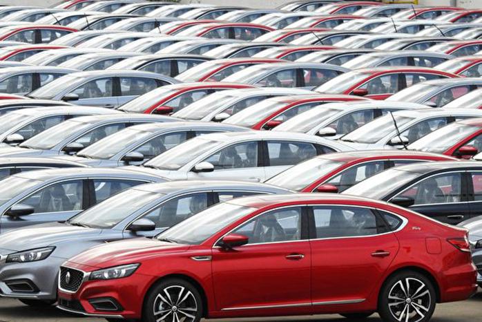 在武漢肺炎疫情衝擊下,大陸2月份汽車銷量大幅下滑。圖為示意照。 (AFP)