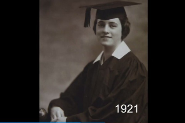 丹拉女士在19歲時的照片。 (《今日美國》視頻截圖)