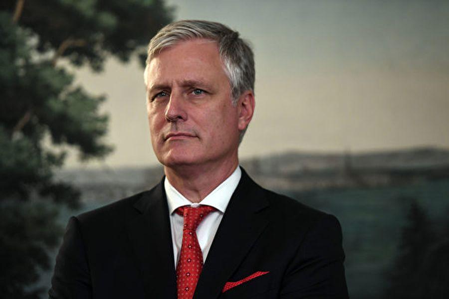 圖為美國國家安全顧問羅伯特・奧布賴恩(Robert O'Brien)。(SAUL LOEB/AFP)