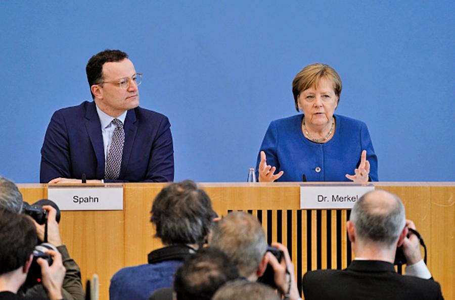 默克爾:德國或六七成人口染武肺