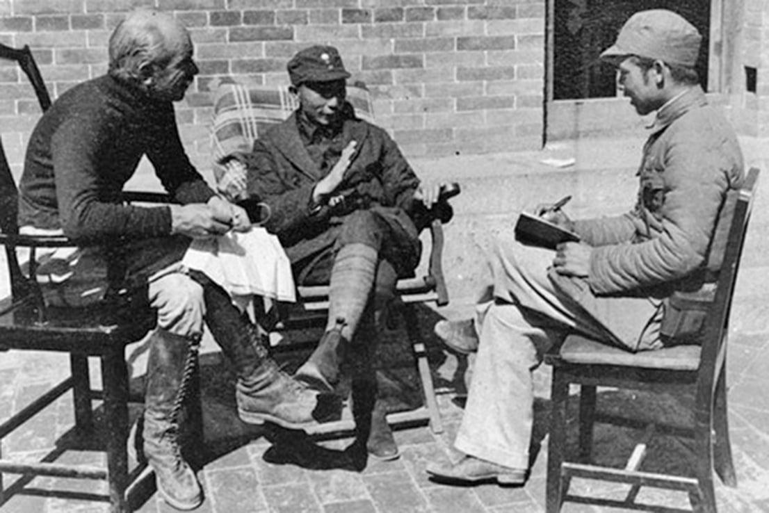 來中國支援中共的加拿大醫生白求恩。(網絡圖片)