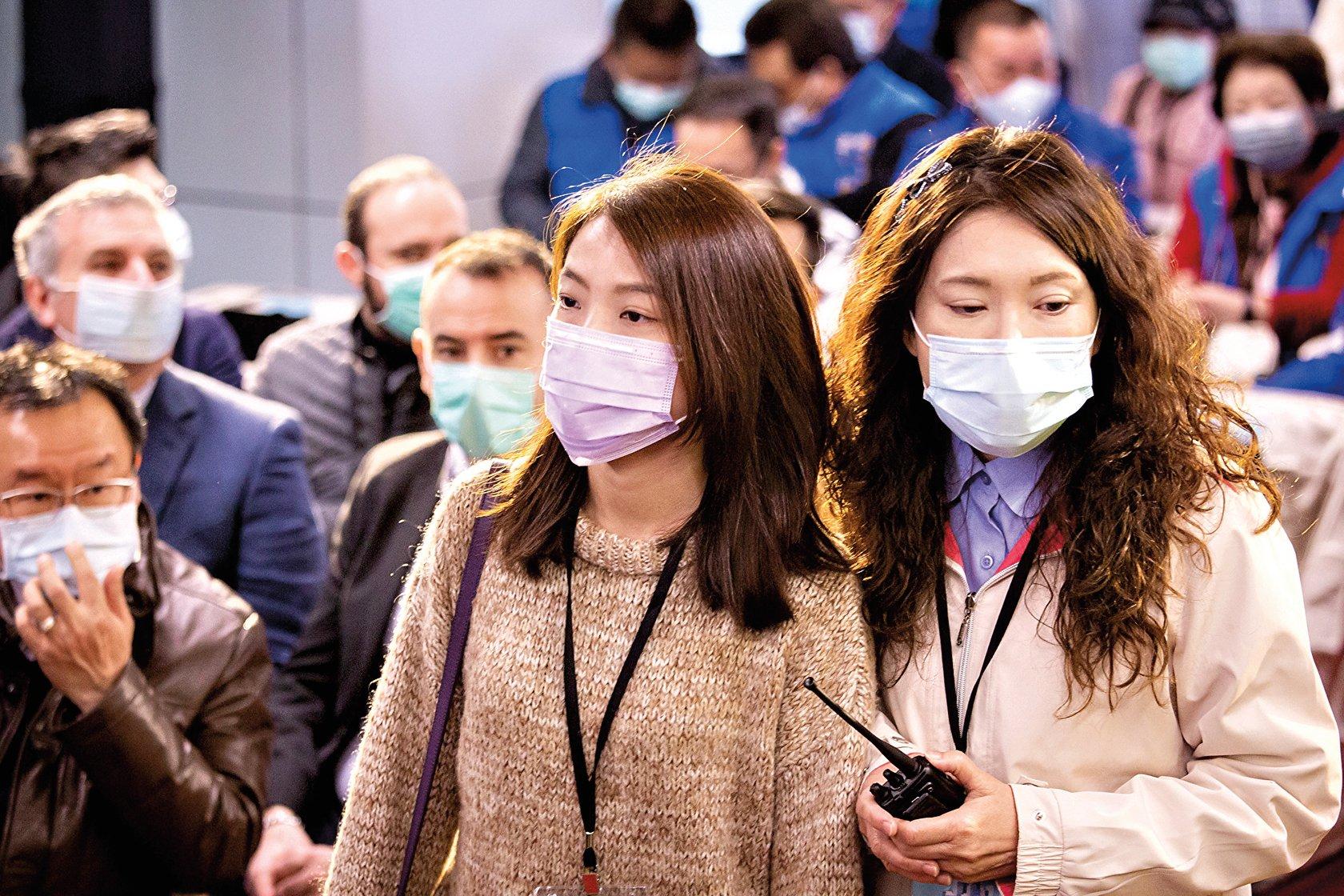 武漢肺炎疫情延燒,不僅波及全中國,更擴散至全球。(陳柏州/大紀元)