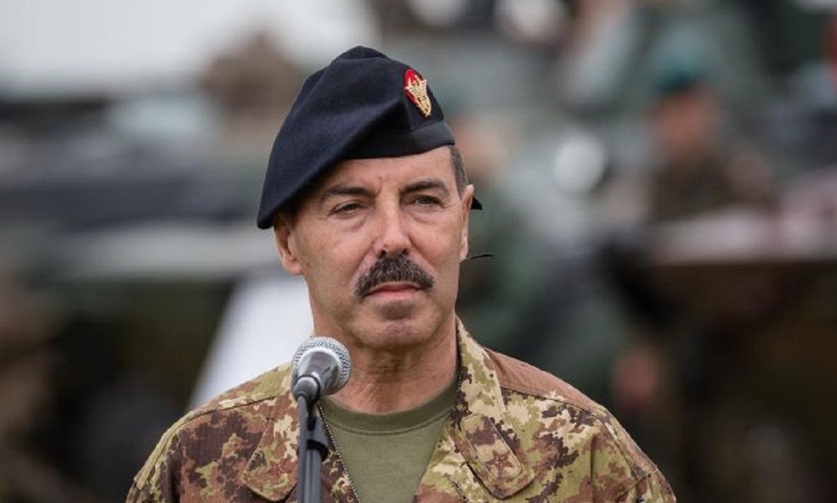 2020年3月8日,意大利陸軍參謀長法里納被驗出確診感染中共肺炎(武漢肺炎、新冠肺炎)。(WOJTEK RADWANSKI/AFP via Getty Images)