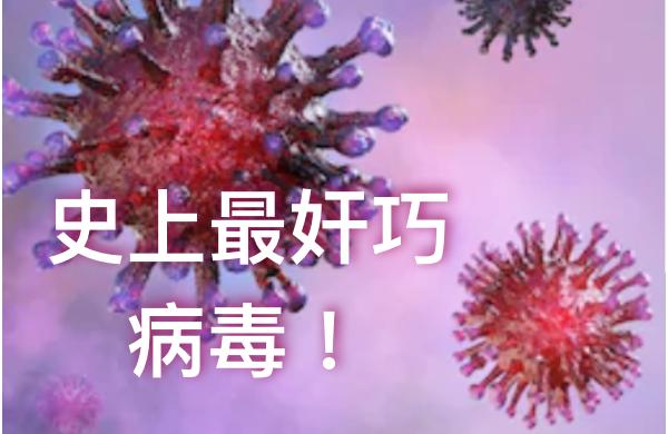 武漢肺炎病毒史上最「奸巧」  專家:或成人類生活「常客」