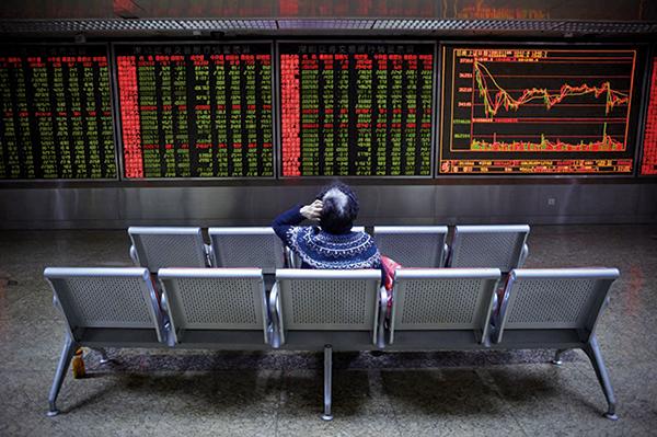 一周淨賣出417億美元 外資加速逃離中國股市