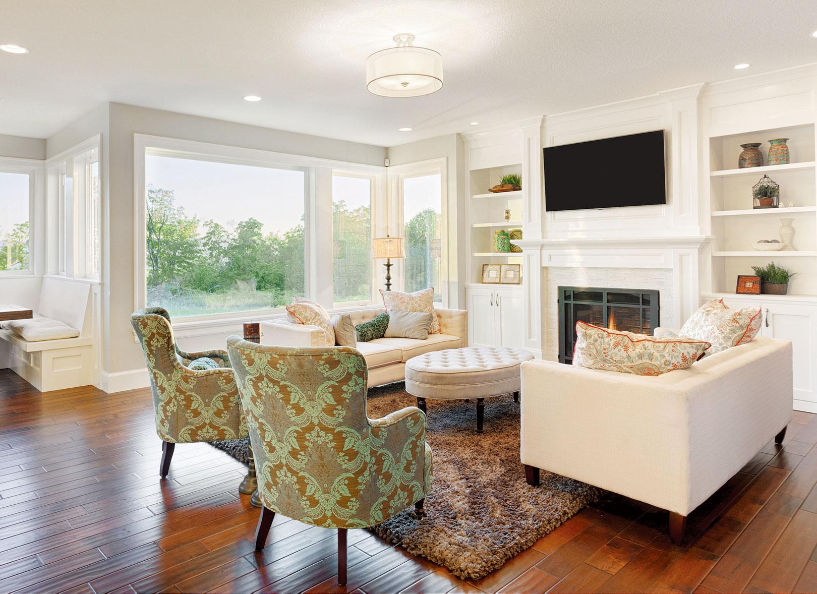 選擇地毯時,應考慮其顏色和材質是否能與室內的空間風格契合。(Fotolia)