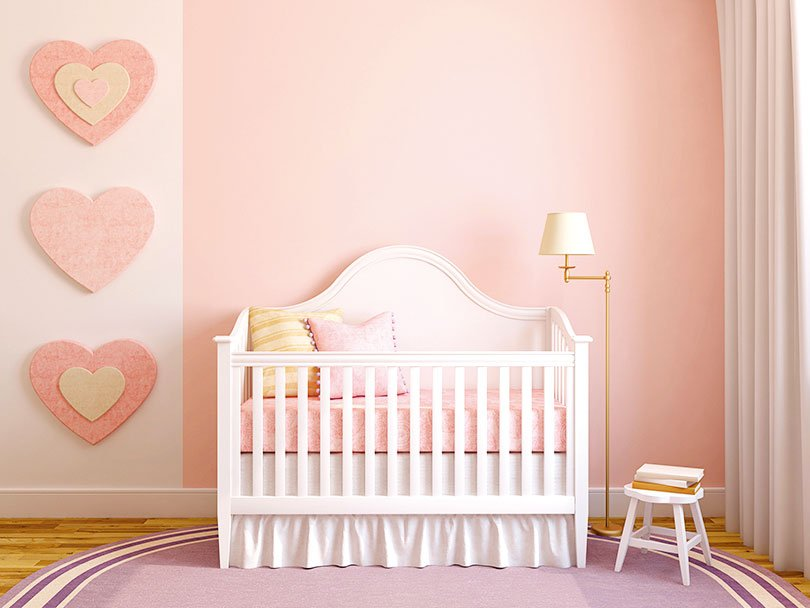 嬰幼兒的房間地毯宜選擇耐磨且顏色柔和的款式。(Fotolia)