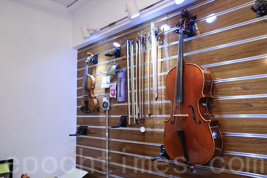 大提琴是黃家立生命中重要的一部份。(陳仲明/大紀元)