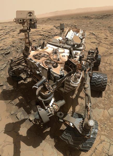 好奇號在火星上發現有機物