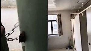 武漢一家返國中計:垃圾車送公廁隔離