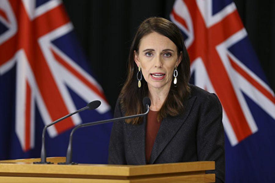 紐西蘭總理阿德恩表示,台灣當局因應疫情制定「公眾集會指引」架構相當成功,紐西蘭抗疫策略就是要緊隨「台灣模式」。(Hagen Hopkins/Getty Images)