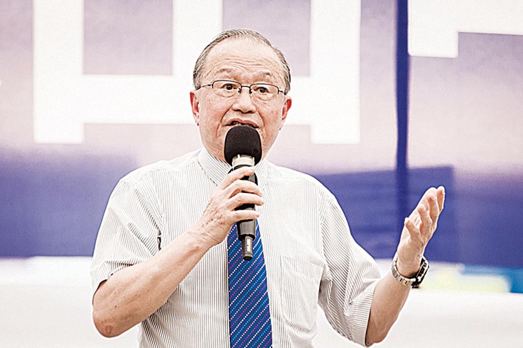 台灣投資中國受害者協會理事長高為邦,資料照片。(陳柏州/大紀元)