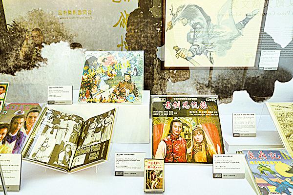 今年書展首設年度主題「武俠文學」,在文藝廊推出「筆生武藝–香港的武俠文學」展覽區。(圖/宋祥龍)