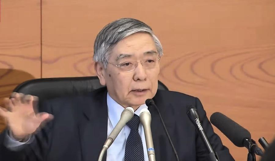 日本央行總裁:疫情被控制 經濟可恢復
