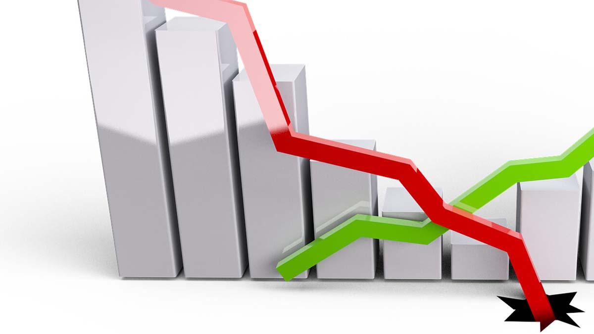 中共公佈慘烈經濟數據,經濟機構估算中國GDP暴跌13%。(pixabay.com)
