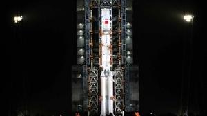 中共長征七號遙二火箭發射失敗