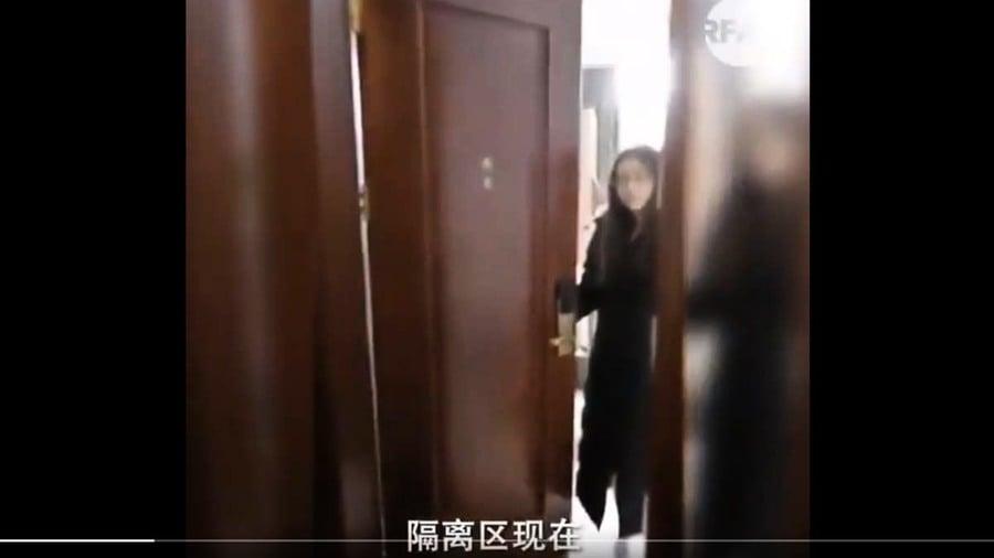 華女回國被強制隔離 朝特警要「人權」遭喝斥