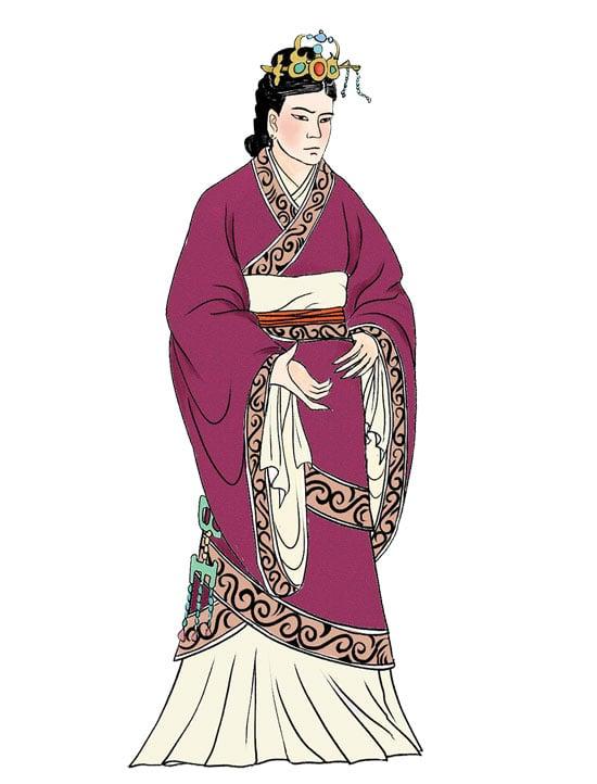 呂雉,字娥姁,漢高祖劉邦皇后,通稱呂后。