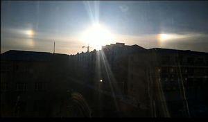 黑龍江天空出現三個太陽 持續一個小時