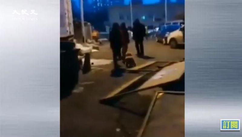 黑龍江省市民爆料,哈爾濱市南崗區哈西區域又有一個確診病例,該消息已經在民間傳開了。(影片截圖)