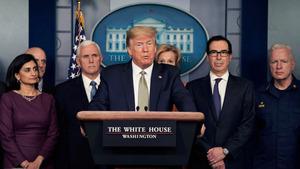 特朗普:中共病毒或持續到8月 美國經濟恐現衰退
