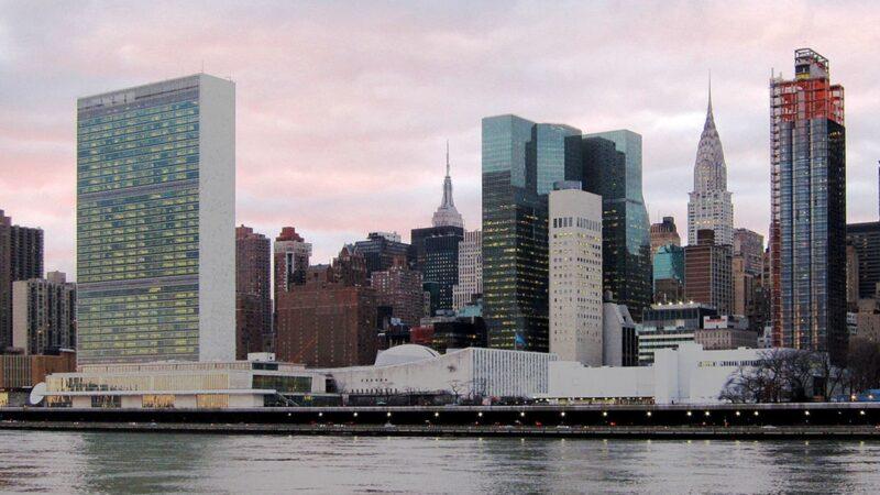 聯合國總部二人染中共肺炎 安理會緊急叫停兩場會議