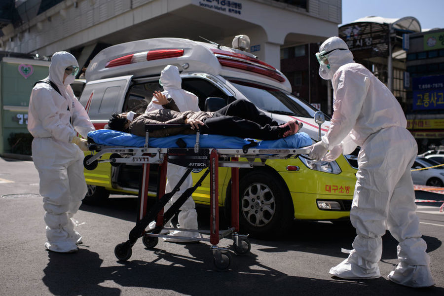 韓再爆群聚感染 大邱5療養醫院至少87例確診