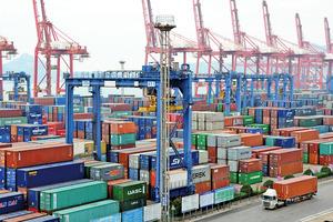 2月中國面向日本出口銳減47%