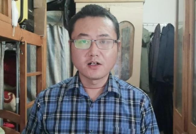 深圳律師胡正軍先生,感謝大家鼓勵。(影片截圖)