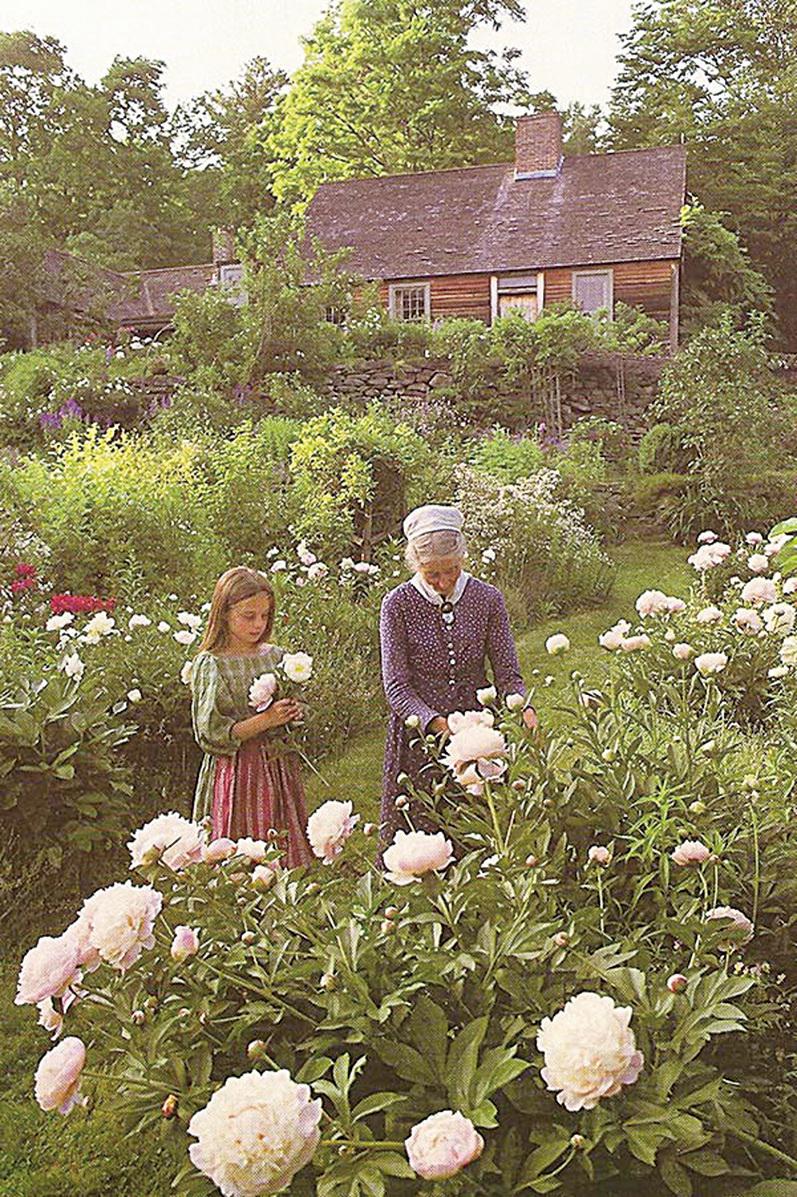 塔莎杜朵小屋前有一個美麗的花園。(網絡圖片)