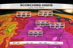 「熱罩」致46度高溫 1.3億美國人被「烤」