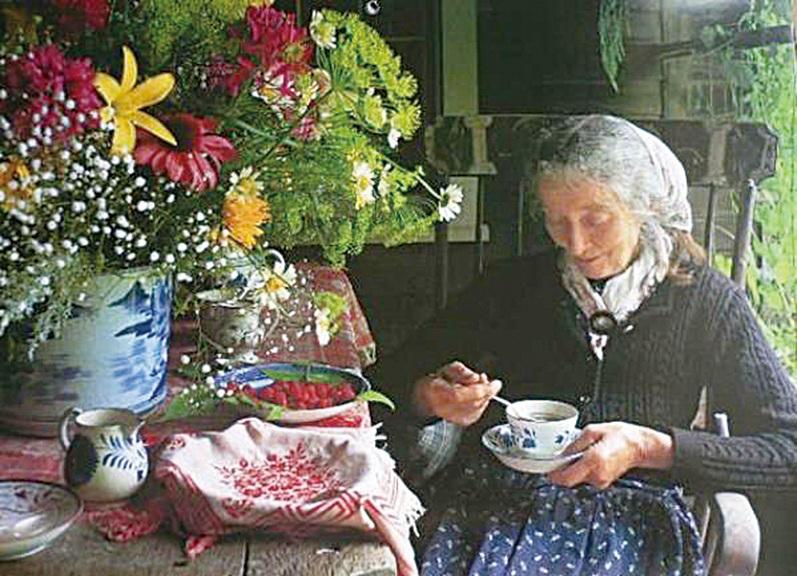 塔莎杜朵恬靜的田園生活。(網絡圖片)