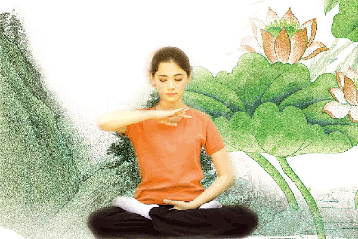 靜靜的思考不說話是一種智慧也是一種修養(希望之聲合成)