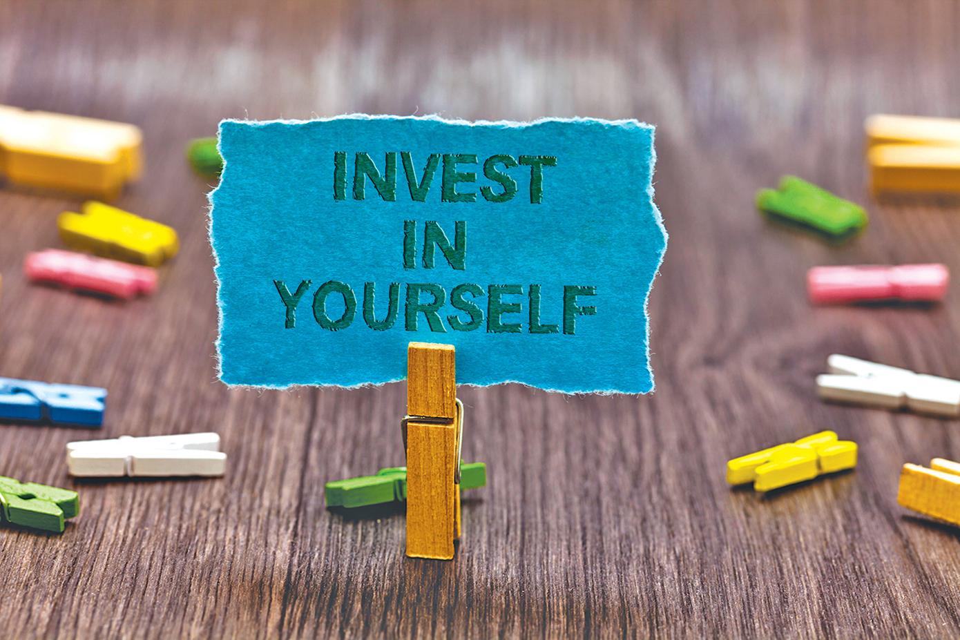 選擇「投資自己」是正確的,而且還是絕對物超所值的投資!