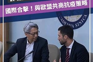 歐盟與台灣合作抗中共肺炎
