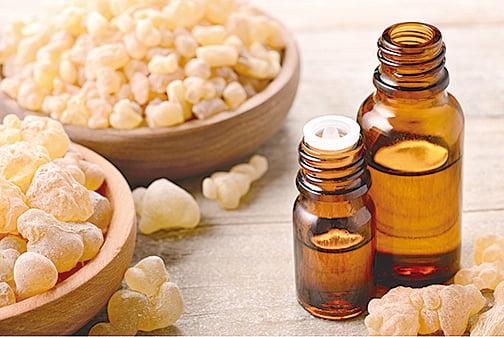 乳香精油讓你平靜有活力,放鬆身心,還能促進免疫系統健康。(Shutterstock)