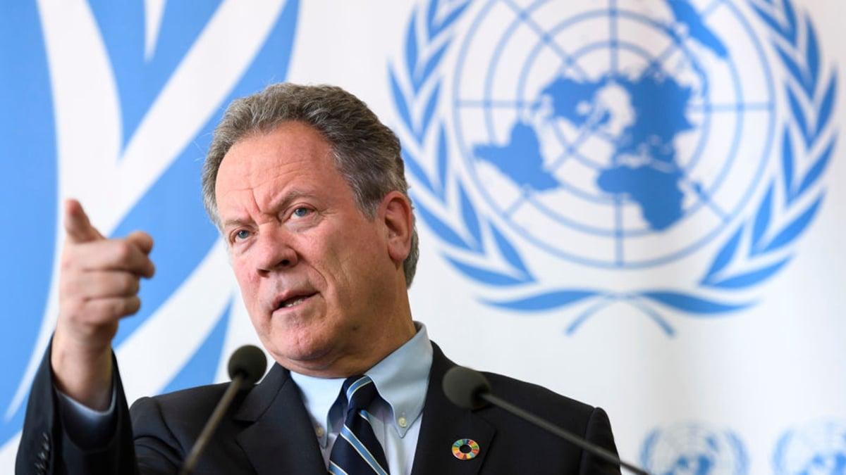 日前,全球最大人道救援組織,隸屬聯合國的「世界糧食計劃署」行政總裁也感染中共肺炎。(FABRICE COFFRINI/AFP via Getty Images)