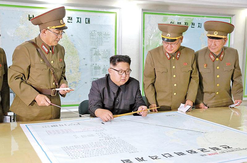 在金正恩面前 北韓核開發幹部被槍殺