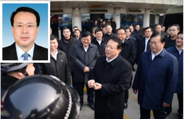 山東省長龔正春運期間走訪工作人員。(網絡圖片)