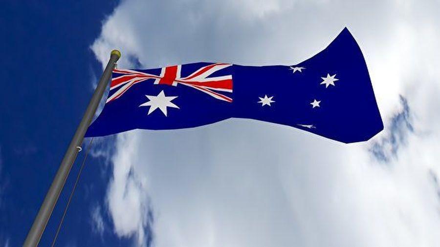 澳洲外交部發言人拒絕透露安德森的確診是否會影響領事服務,也沒有說明作為謹慎措施,澳洲駐法大使伯恩(Brendan Berne)是否也進行了自我隔離。圖為澳洲國旗。(Pixabay)