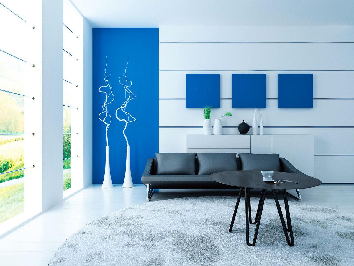依照色彩心理學的角度,藍色、綠色比暖色系更具有舒緩的效果,可讓人內心平靜。(Fotolia)