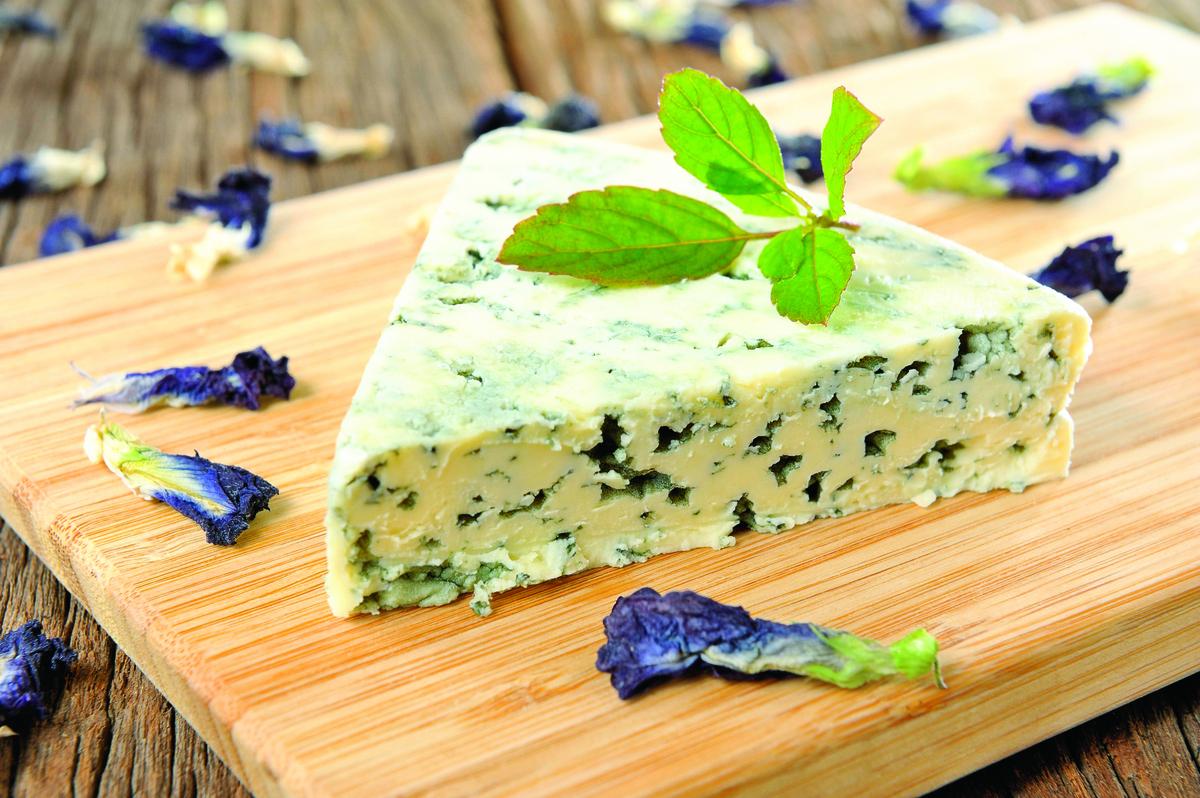 藍紋芝士擁有的獨特風味,被食客們封為芝士之王。