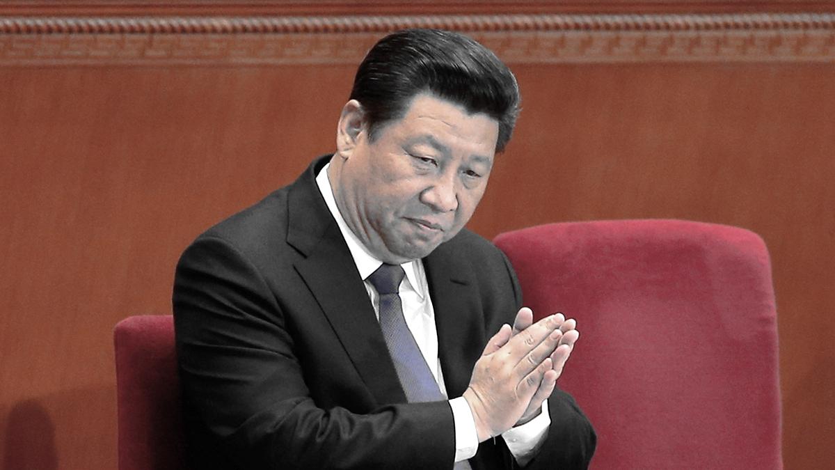 近日,中共紅二代陳平在微信轉發一封公開信說,呼籲召開政治局緊急會議,討論習近平是否下台問題。(Lintao Zhang/Getty Images)