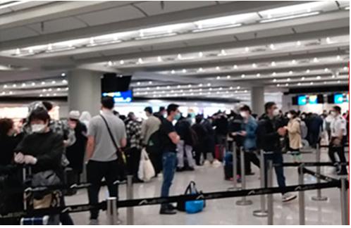 19日,往大陸快船停航,至近千旅客滯留香港機場。(網絡圖片)