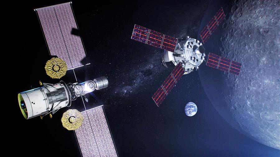 月龍門戶站首批設備選定 可預報太空「天氣」