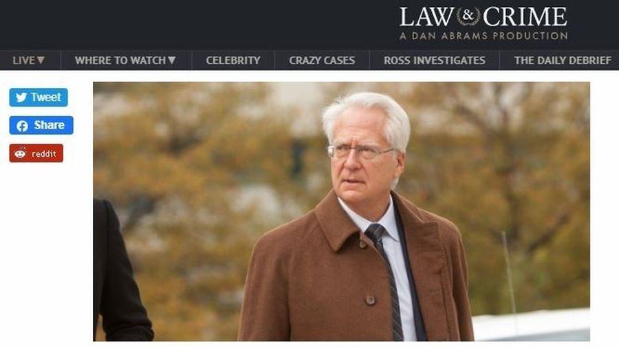圖為美國前司法部檢察官克萊曼(Larry Klayman)。(LAW & CRIME網站截圖)