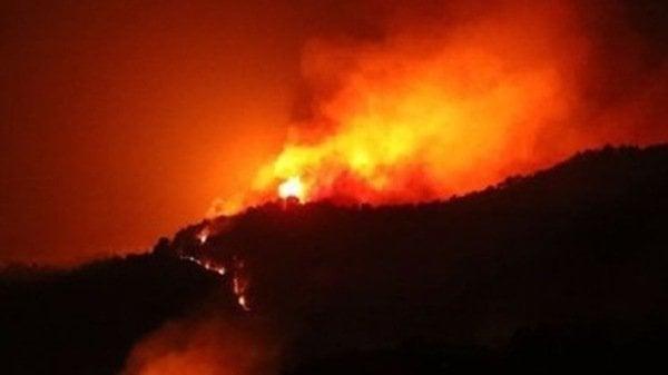 山西森林大火撲不滅 連燒7天官方才報道